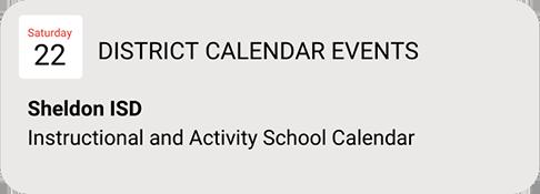 Calendar Graphic Button